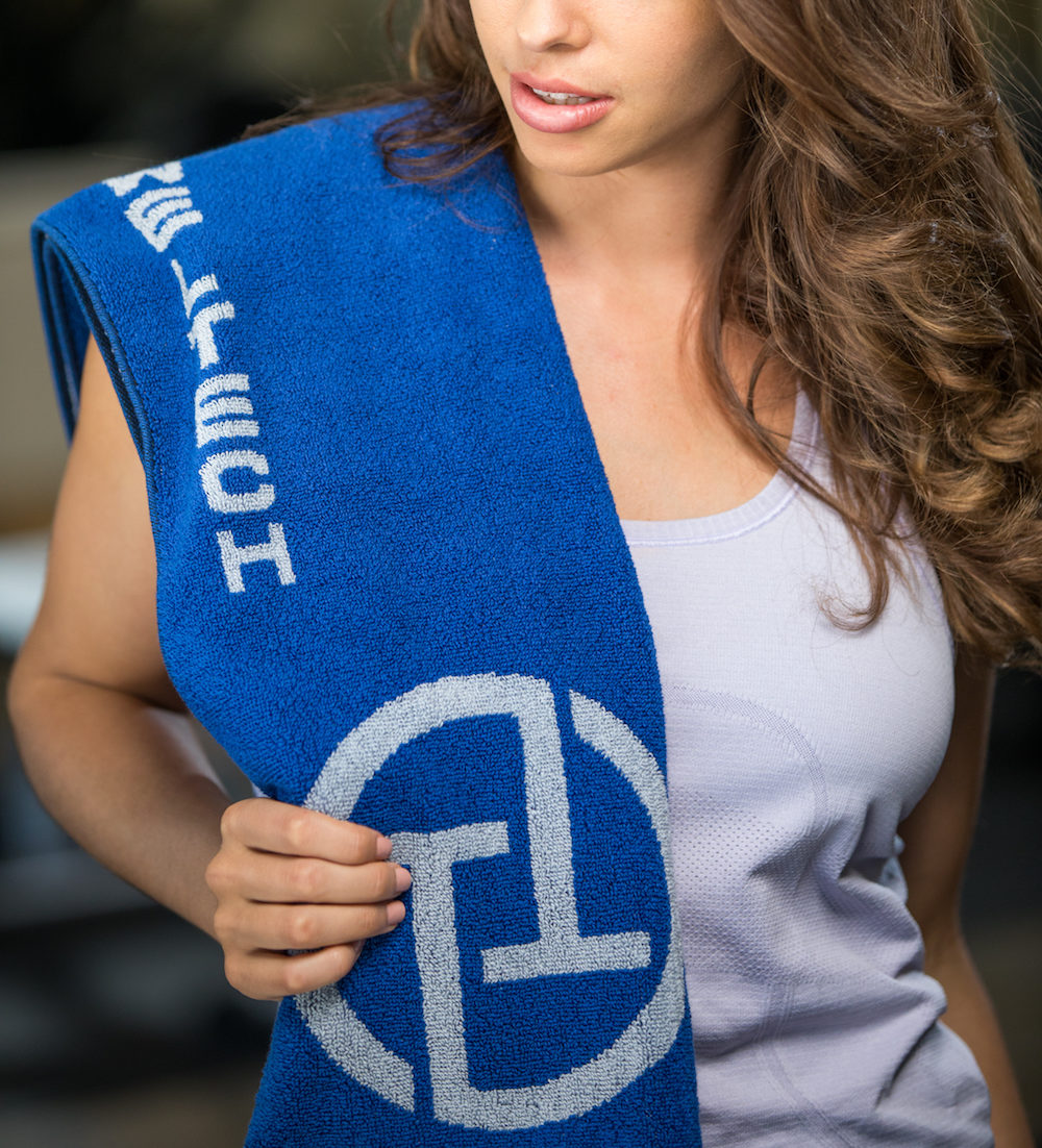 TowelTech Premium Fitness (Blue & Grey)